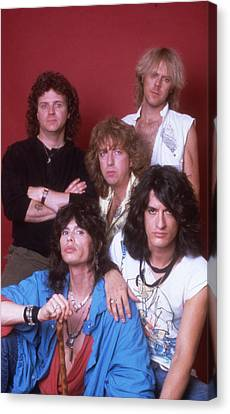 Aerosmith - Back In The Saddle 1984 Canvas Print by Epic Rights