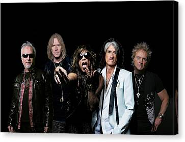 Aerosmith - Global Warming Tour 2012 Canvas Print by Epic Rights