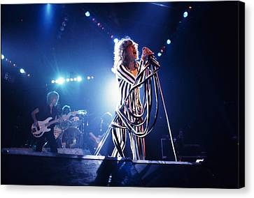 Aerosmith - Pinstripes And Love Bites 1970s Canvas Print by Epic Rights
