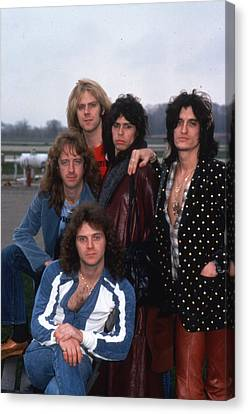 Aerosmith - Terre Haute 1977 Canvas Print by Epic Rights