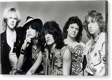 Aerosmith - What It Takes 1980s Canvas Print by Epic Rights