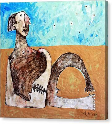 Aetas No 12  Canvas Print by Mark M  Mellon