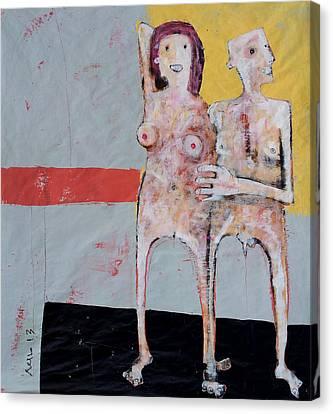Aetas No 9 Canvas Print by Mark M  Mellon