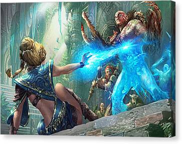 Aetherize Canvas Print by Ryan Barger