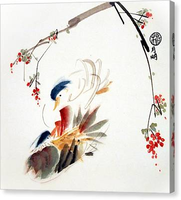 Affectionate Canvas Print by Ming Yeung