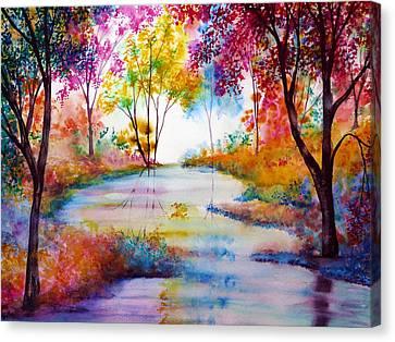 Affinity Canvas Print by Ann Marie Bone