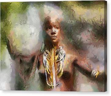 Africa Freedom Canvas Print by Georgi Dimitrov