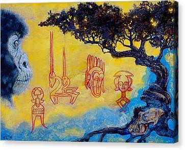 African Dream Canvas Print by Derrick Higgins