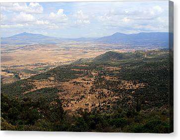 African Great Rift Valley Canvas Print by Aidan Moran