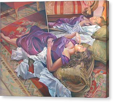 After It Is Gone Canvas Print by Julie Orsini Shakher