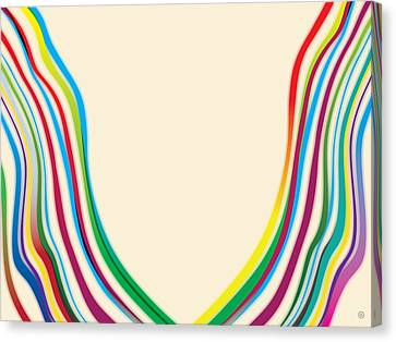 After Morris Louis 2 Canvas Print by Gary Grayson