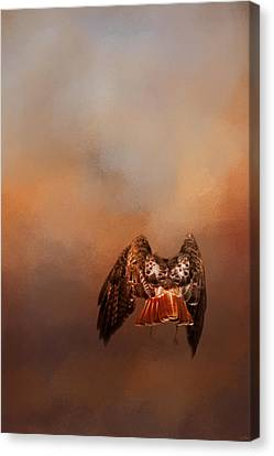 After The Prey Canvas Print by Jai Johnson