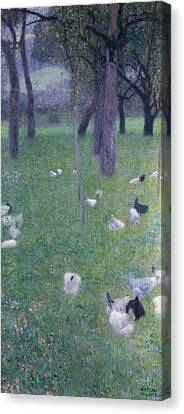 After The Rain Canvas Print by Gustav Klimt