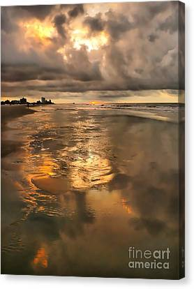 After The Rain Canvas Print by Jeff Breiman