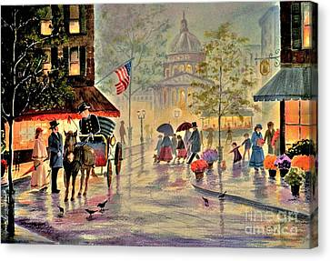 After The Rain Canvas Print by Marilyn Smith