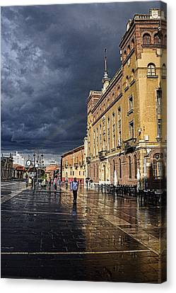 After The Rain Canvas Print by Tom Bell