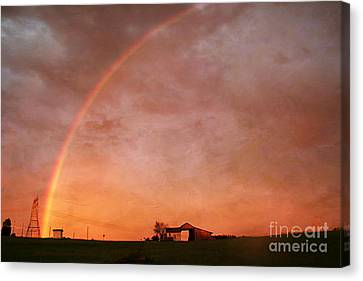 After The Storm Canvas Print by Darren Fisher