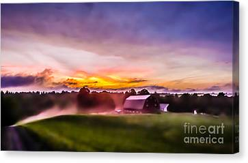 After The Storms Have Cleared Canvas Print by Edward Fielding