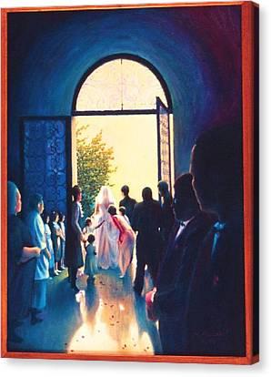 After The Wedding Canvas Print by Herschel Pollard