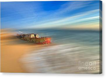 Aftermath - A Tranquil Moments Landscape Canvas Print by Dan Carmichael