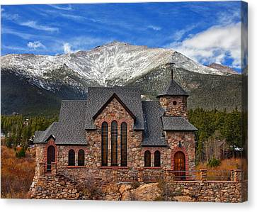 Afternoon Mass Canvas Print by Darren  White