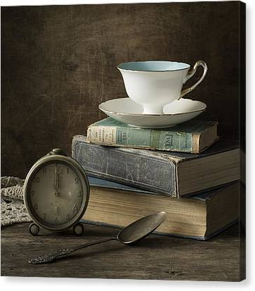 Afternoon Tea Canvas Print by Amy Weiss
