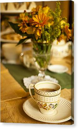 Afternoon Tea Time Canvas Print by Andrew Soundarajan