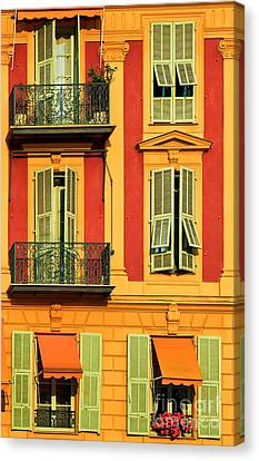 Afternoon Windows Canvas Print by Inge Johnsson