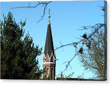 Against The Sky Canvas Print by Joseph Yarbrough