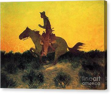 Against The Sunset Canvas Print by Pg Reproductions