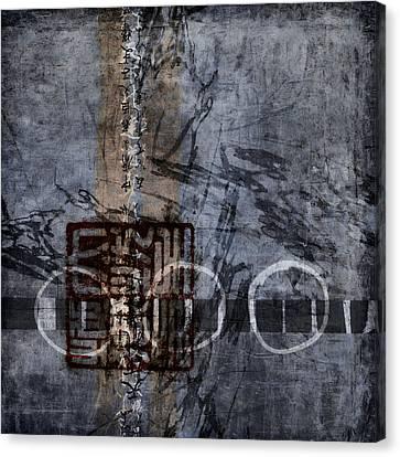 Aged Indigo Canvas Print by Carol Leigh