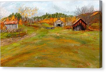 Aged With Character-farm Life Canvas Print by Lourry Legarde