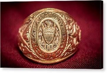 Aggie Ring Canvas Print by David Morefield