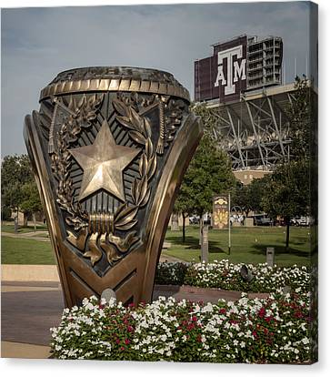 Aggie Ring Canvas Print by Joan Carroll