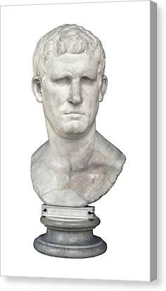 Agrippa. 63 Bc - 12 Bc. Bust. Roman Canvas Print by Everett