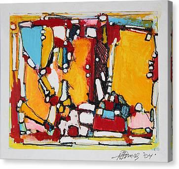 Ahimsa   Go Peacefully Canvas Print by Hari Thomas