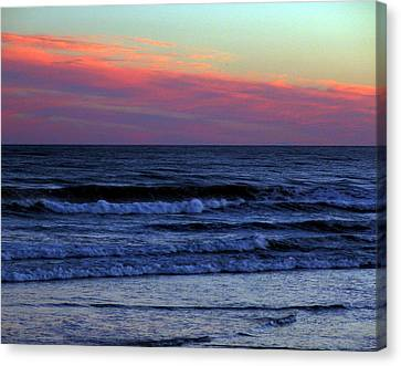 Air Fire And Water Canvas Print by George Cousins
