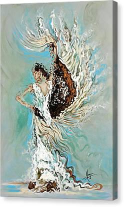 Air Canvas Print by Karina Llergo