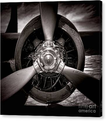 Air Power Canvas Print by Olivier Le Queinec