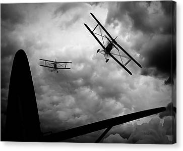 Air Pursuit Canvas Print by Bob Orsillo