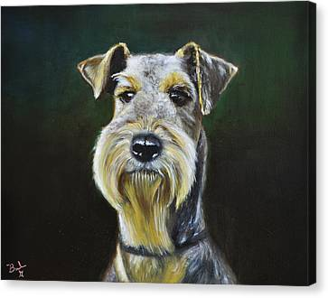 Airedale Terrier Canvas Print by Ruben Barbosa