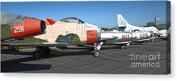 Airplane - 12 Canvas Print by Gregory Dyer
