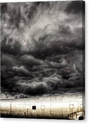 Airplane Canvas Print by Bob Orsillo
