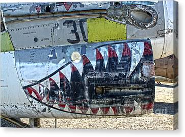 Airplane Graveyard - 06 Canvas Print by Gregory Dyer