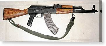Ak47 Canvas And Cell Phone Case Canvas Print by Shane Dufoe