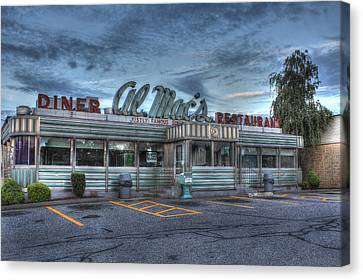 Al Mac's Diner Canvas Print by Andrew Pacheco
