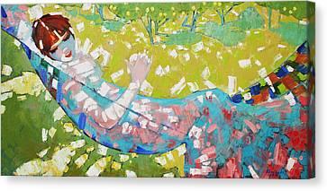 Alabaster Noon  Canvas Print by Anastasija Kraineva