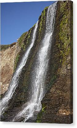 Alamere Falls Pacific Coast Canvas Print by Garry Gay