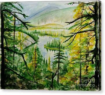 Alaska Dreamin' Canvas Print by Bev Arnold