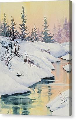 Alaska Gold Canvas Print by Teresa Ascone